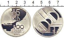 Изображение Монеты Франция 100 франков 1994 Серебро Proof