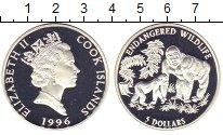 Изображение Монеты Острова Кука 5 долларов 1996 Серебро Proof Елизавета II.  Сохра