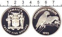 Изображение Монеты Ямайка 25 долларов 1995 Серебро Proof