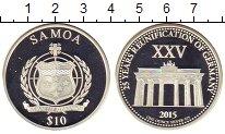 Изображение Монеты Самоа 10 долларов 2015 Серебро Proof