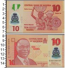 Изображение Банкноты Нигерия 10 найра 2017  UNC-