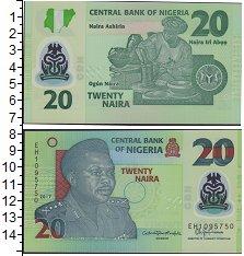 Изображение Банкноты Нигерия 20 найр 2017  UNC