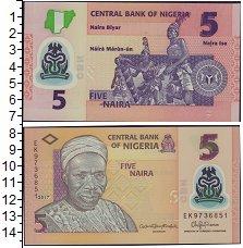 Изображение Банкноты Нигерия 5 найра 2017  UNC