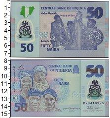 Изображение Боны Нигерия 50 найра 2016  UNC