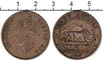 Изображение Монеты Восточная Африка 1 шиллинг 1952 Медно-никель XF-