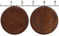 Изображение Монеты Канада 1 цент 1912 Бронза XF Георг V. Портрет