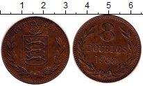 Изображение Монеты Гернси 8 дублей 1938 Бронза XF