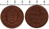 Изображение Монеты Гернси 8 дублей 1949 Бронза XF