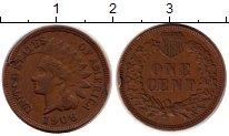 Изображение Монеты США 1 цент 1906 Бронза XF