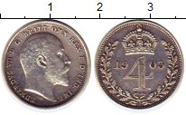 Изображение Монеты Великобритания 4 пенса 1903 Серебро Prooflike