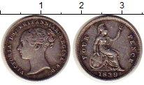Изображение Монеты Великобритания 4 пенса 1839 Серебро XF