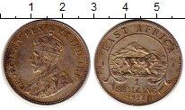 Изображение Монеты Восточная Африка 1 шиллинг 1924 Серебро XF+