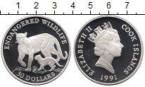 Изображение Монеты Острова Кука 50 долларов 1991 Серебро Proof