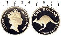 Изображение Монеты Австралия 1 доллар 1998 Серебро Proof