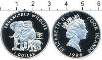 Изображение Монеты Острова Кука 1 доллар 1996 Серебро Proof