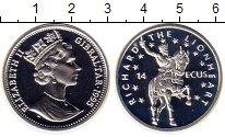 Изображение Монеты Гибралтар 14 экю 1995 Серебро Proof Елизавета II.  Ричар