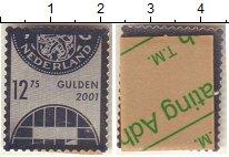 Изображение Монеты Нидерланды 12,75 гульдена 2001 Серебро Proof Сувенирная почтовая