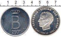 Изображение Монеты Бельгия 250 франков 1976 Серебро Proof-