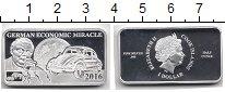 Изображение Монеты Острова Кука 1 доллар 2016 Серебро Proof Елизавета II.  Эконо