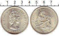 Изображение Монеты Великобритания Бермудские острова 1 крона 1959 Серебро UNC-