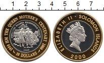 Изображение Монеты Соломоновы острова 10 долларов 2000 Серебро Proof