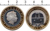 Изображение Монеты Великобритания 2 фунта 2013 Серебро Proof