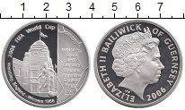 Изображение Монеты Гернси 5 фунтов 2006 Серебро Proof Чемпионат мира по фу