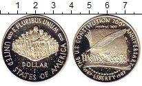 Изображение Монеты США 1 доллар 1987 Серебро Proof-
