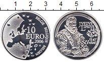 Изображение Монеты Бельгия 10 евро 2006 Серебро Proof-