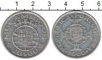 Изображение Монеты Мозамбик 20 эскудо 1960 Серебро VF
