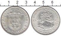 Изображение Монеты Португалия 50 эскудо 1968 Серебро XF