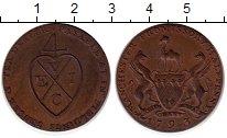 Изображение Монеты Великобритания 1/2 пенни 1793 Медь UNC-