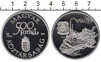Изображение Монеты Венгрия 500 форинтов 1994 Серебро Proof