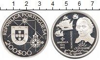Изображение Монеты Португалия 200 эскудо 1992 Серебро Proof