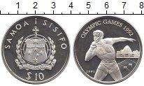 Изображение Монеты Самоа 10 долларов 1991 Серебро Proof