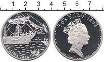 Изображение Монеты Новая Зеландия Токелау 5 тала 1993 Серебро Proof