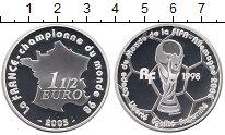 Изображение Монеты Франция 1 1/2 евро 2005 Серебро Proof