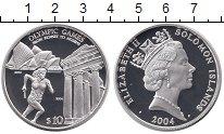Изображение Монеты Соломоновы острова 10 долларов 2004 Серебро Proof
