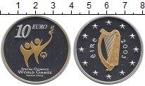 Изображение Монеты Ирландия 10 евро 2003 Серебро Proof- Специальные  Олимпий