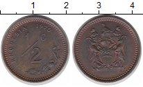 Изображение Монеты Родезия 1/2 цента 1970 Бронза XF