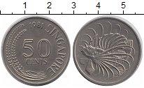 Изображение Монеты Сингапур 50 центов 1981 Медно-никель XF