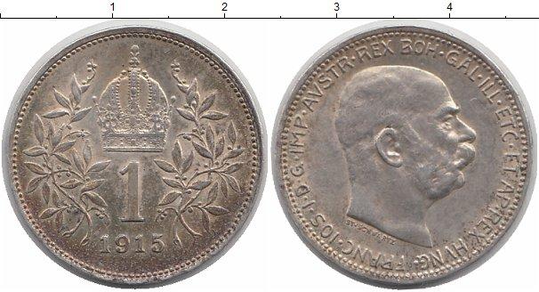 1 крона австрия 1915 денежные знаки стран мира фото