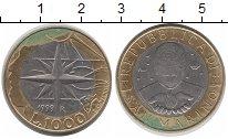 Изображение Монеты Сан-Марино 1000 лир 1999 Биметалл XF