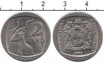 Изображение Монеты ЮАР 2 ранда 1995 Медно-никель UNC-