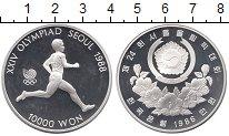 Изображение Монеты Южная Корея 10000 вон 1986 Серебро Proof