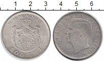Изображение Монеты Румыния 500 лей 1944 Серебро UNC- Михай I