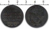 Изображение Монеты Ватикан 1/2 байоччи 1802 Медь VF