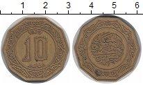 Изображение Монеты Алжир 10 динар 1979 Латунь XF