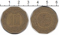Изображение Монеты Алжир 10 динар 1981 Латунь XF