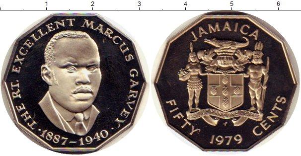 Картинка Монеты Ямайка 50 центов Медно-никель 1979